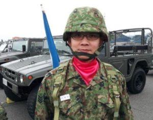 平成25年度 自衛隊記念日 観閲式参加時の様子