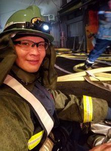 消防団活動の様子